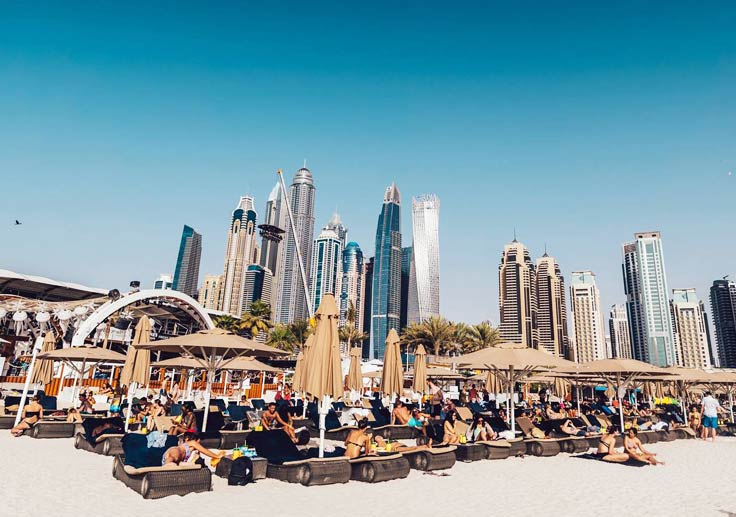 Beach Clubs Dubai